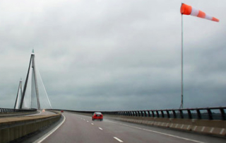 conducir con viento fuerte