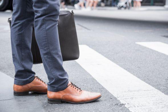 Examen práctico del carnet de coche. Los pasos de peatones