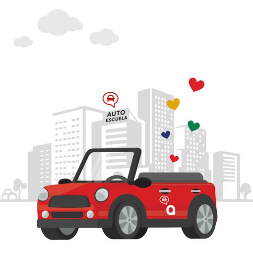 Promo San Valentín Autoescuela autius en Zaragoza