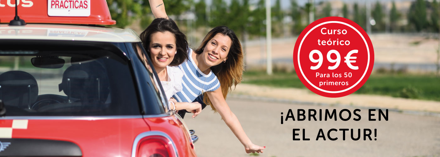 nueva autoescuela autius en el actur de zaragoza