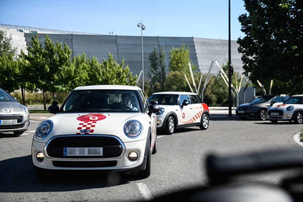 minis clases practicas autius autoescuela zaragoza actur