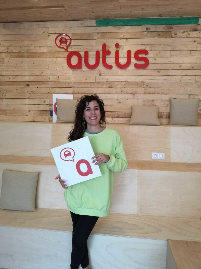 Celia, alumna de autius autoescuela en Monzón