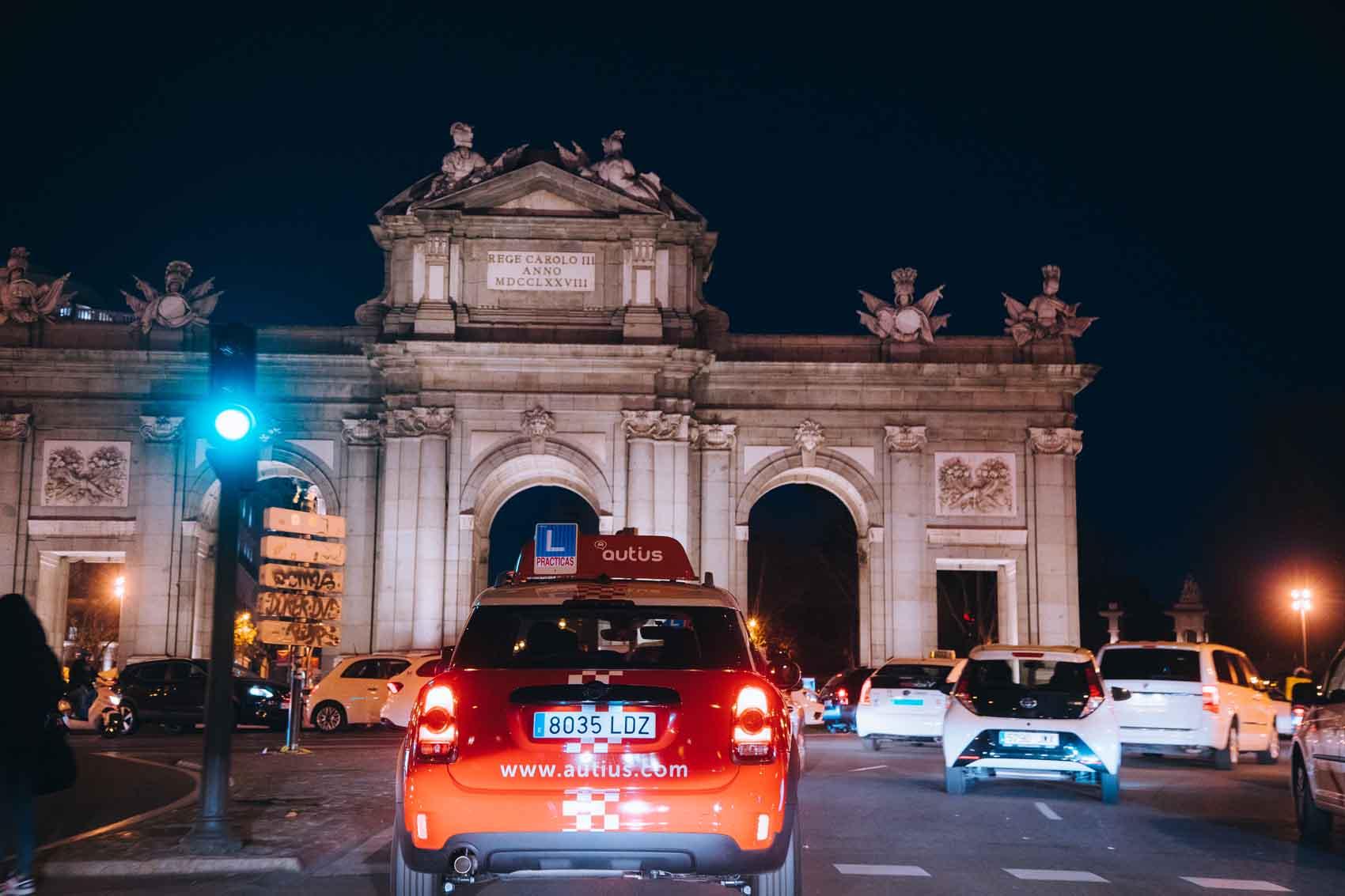 autoescuela autius madrid arguelles mini noche