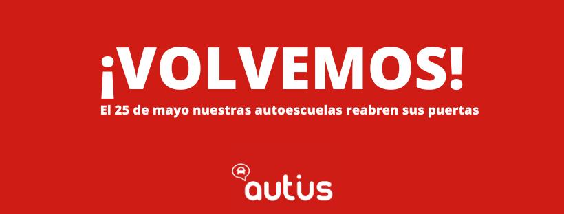 Nuestras autoescuelas reabren sus puertas en Aragón