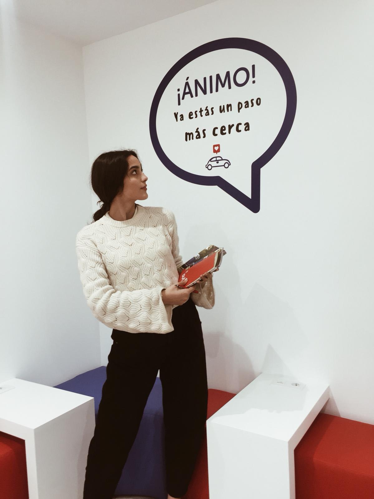 alumna autoescuela de Madrid jara