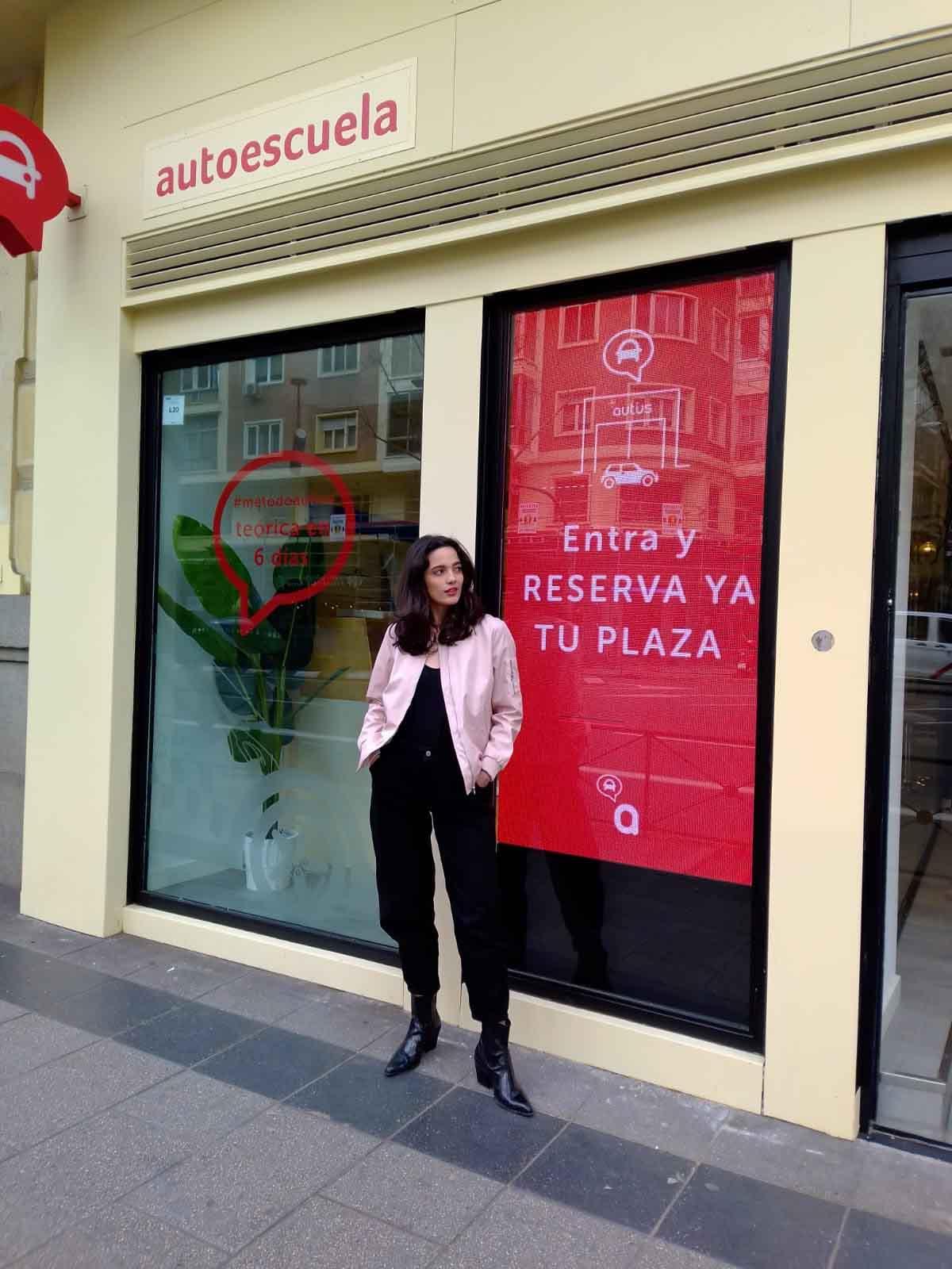 jara alumna autoescuela de Madrid