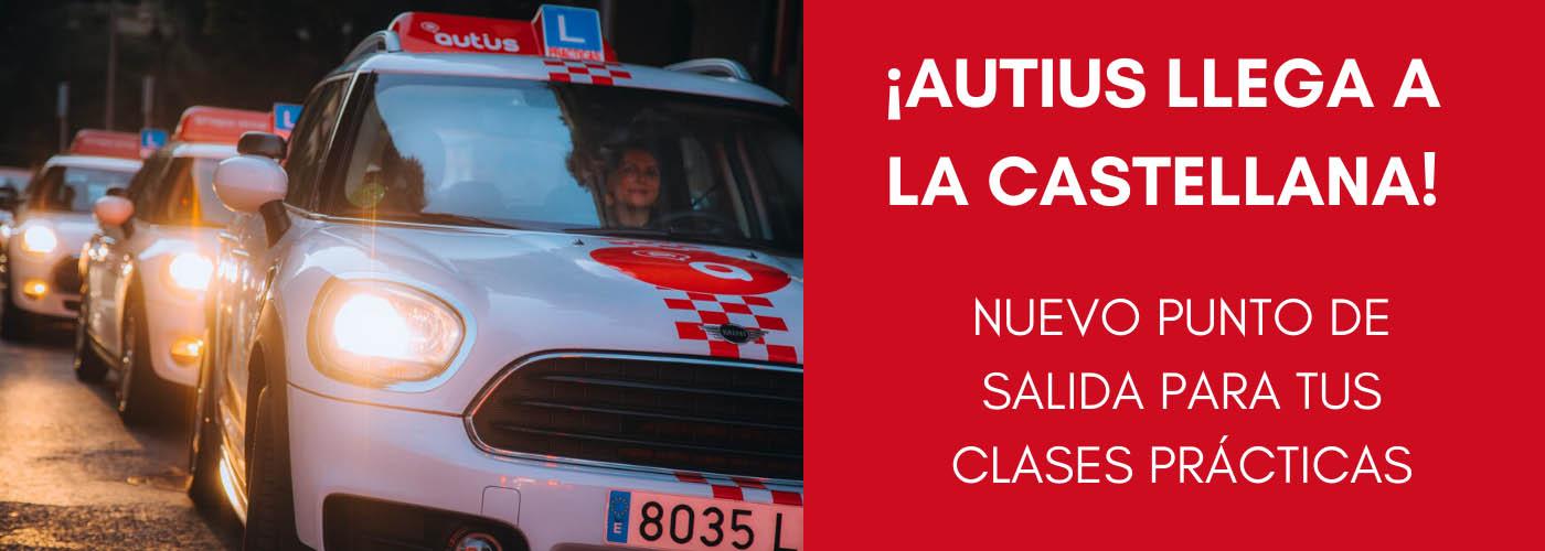 Prácticas en nuestra autoescuela de Madrid, nuevo punto de salida