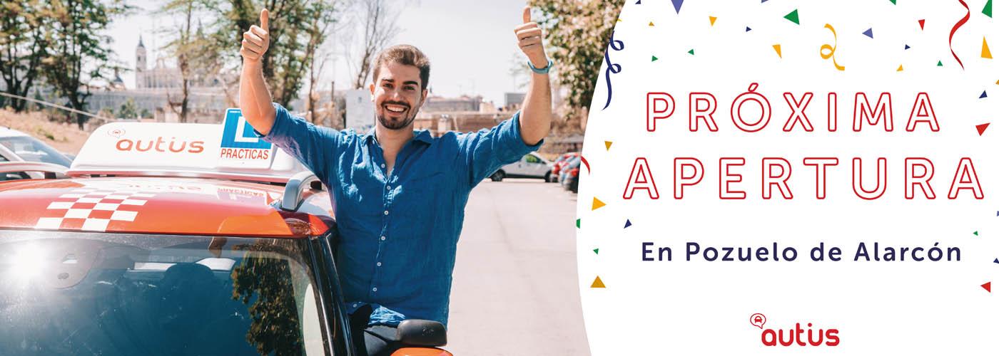 proxima apertura autoescuela en Pozuelo de Alarcón autius
